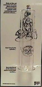 "Bp-Lucite Cylinder 2.5"""