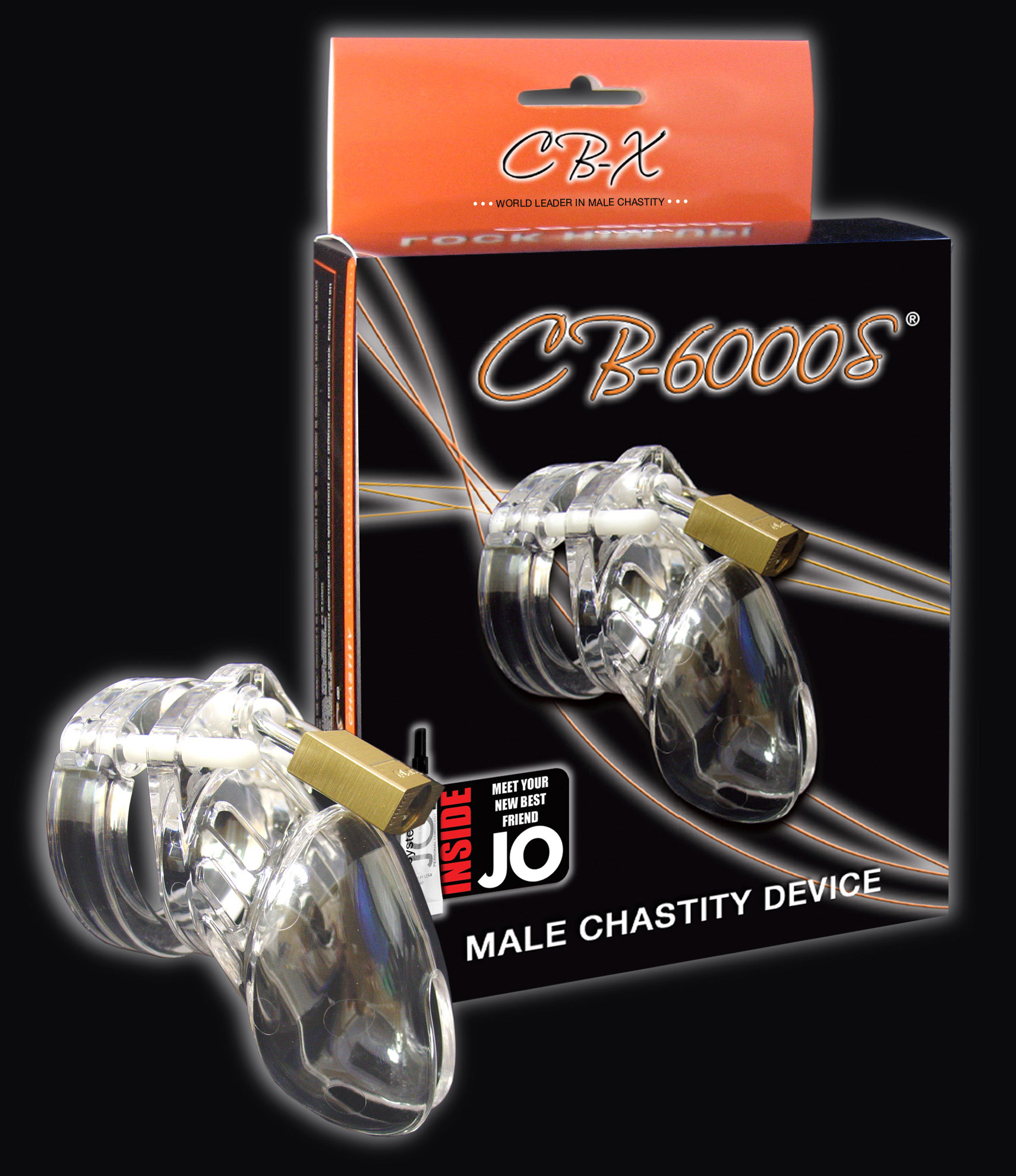 "Chastity Clear Small 2 1/2"" Cock Cage"