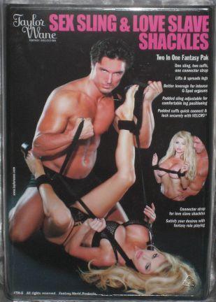 Taylor Wane Sex Sling & Shackles