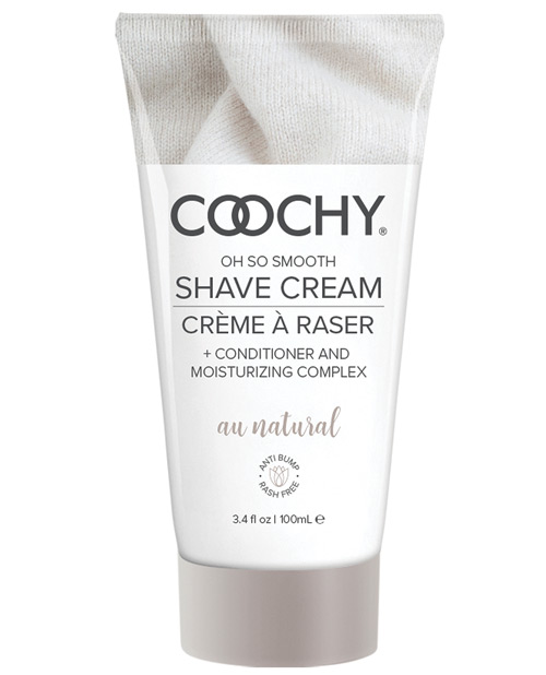 COOCHY SHAVE CREAM AU NATURAL 3.4 OZ