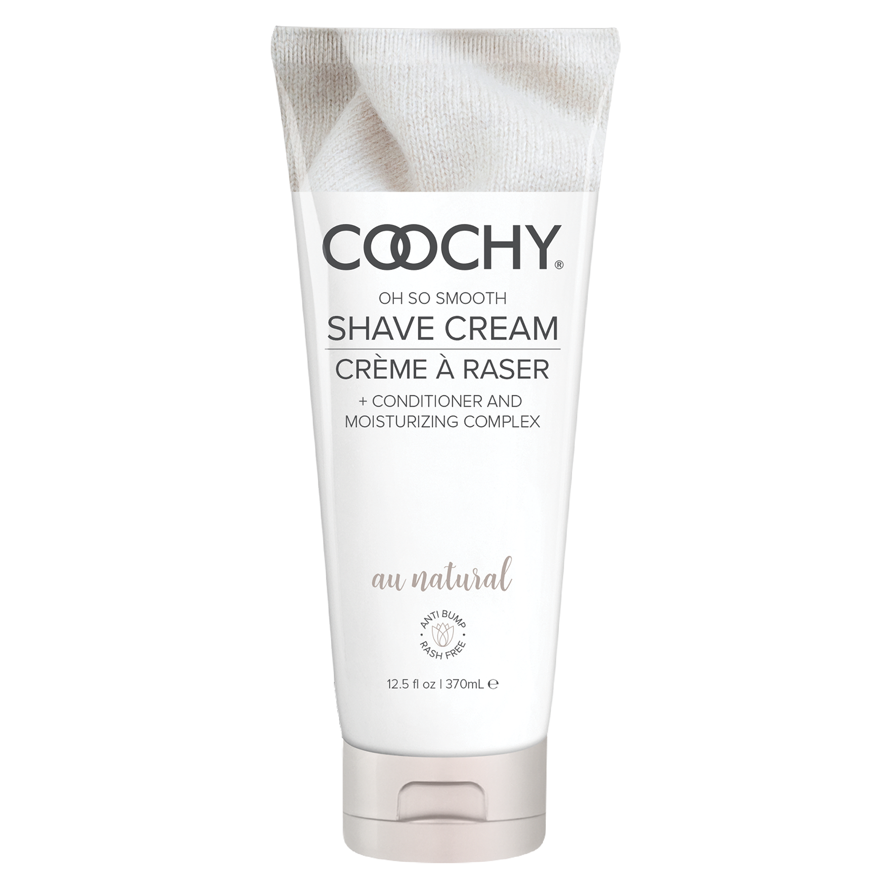 COOCHY SHAVE CREAM AU NATURAL 12.5 OZ