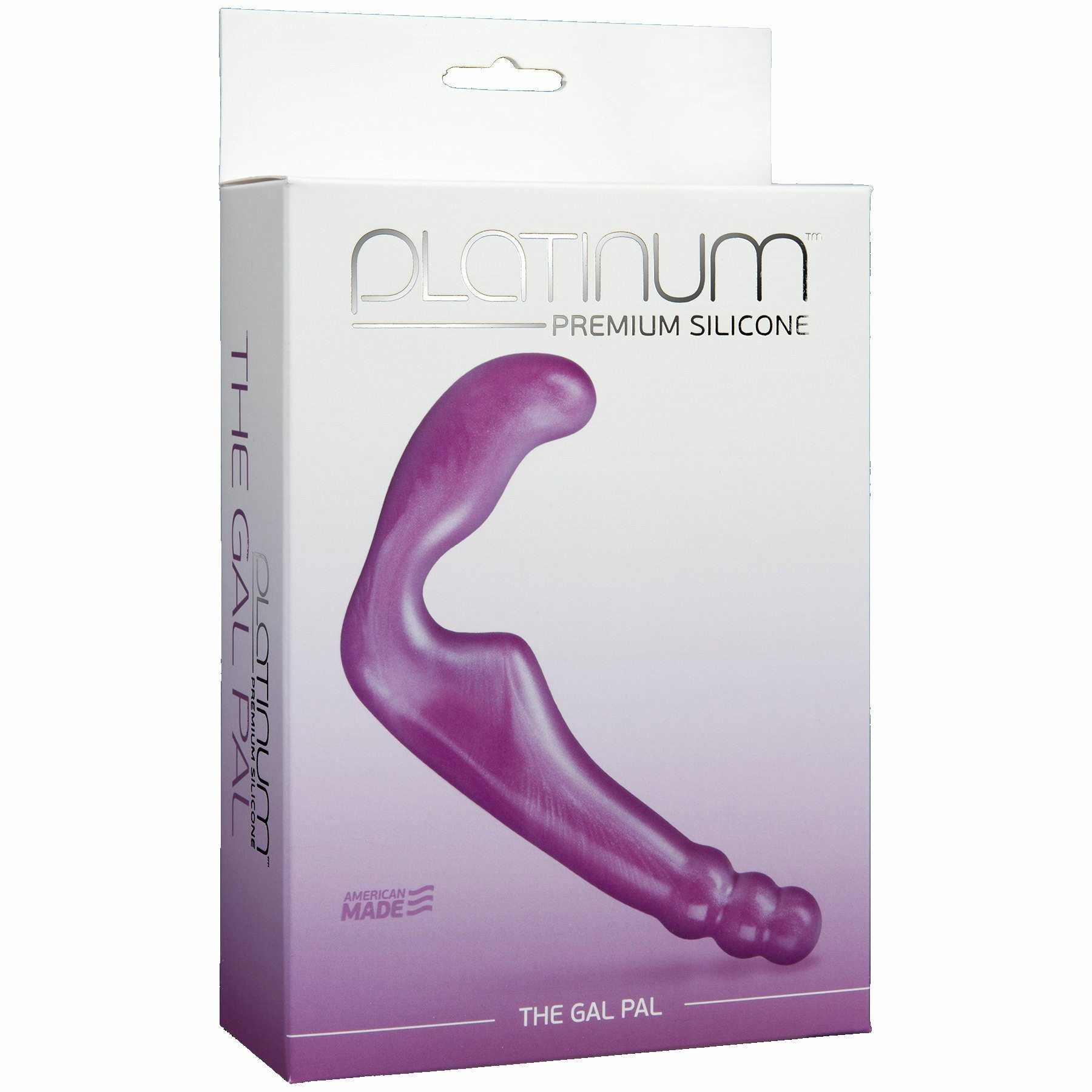 Platinum Silicone Gal Pal Purple