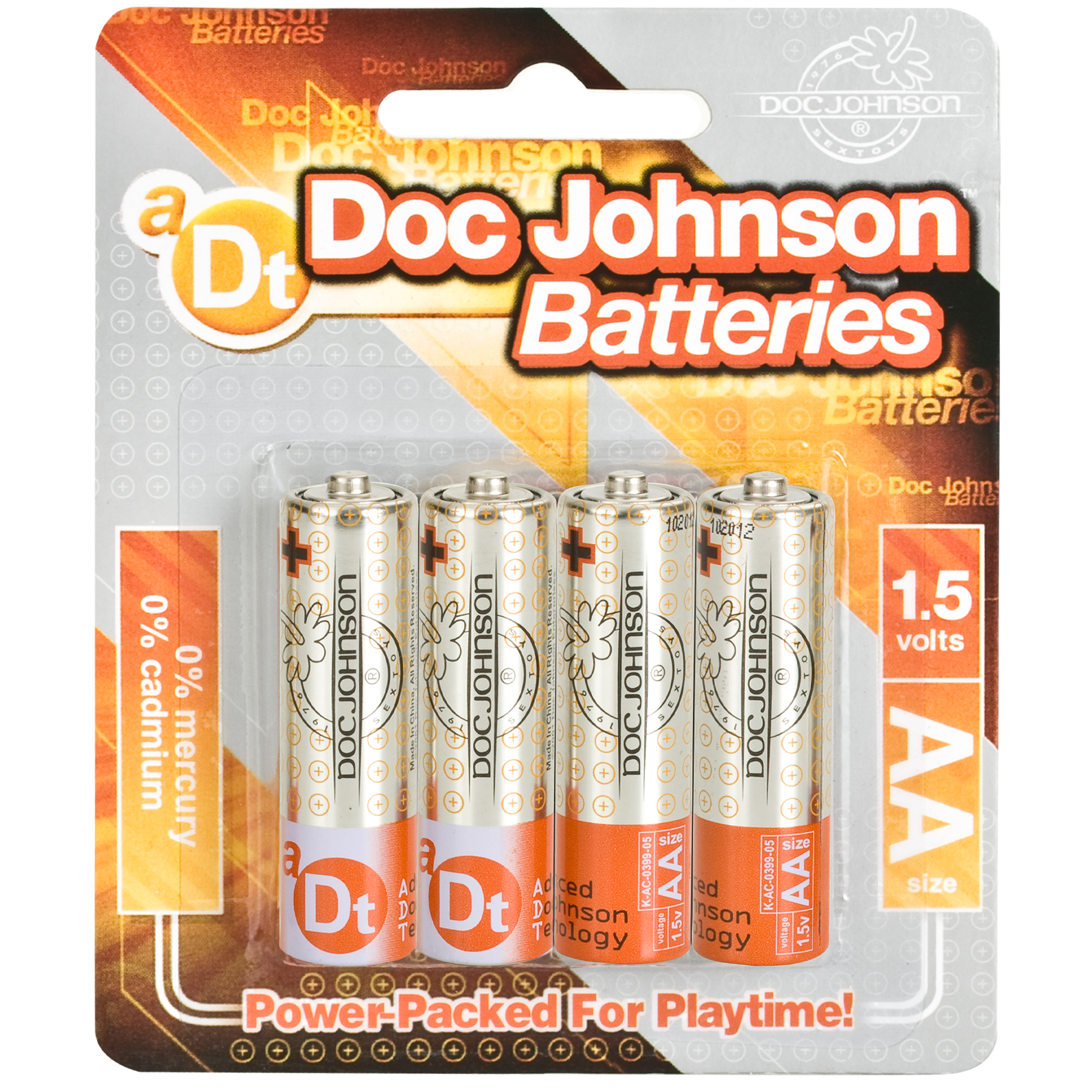 DOC JOHNSON BATTERIES AA 4 PACK CD