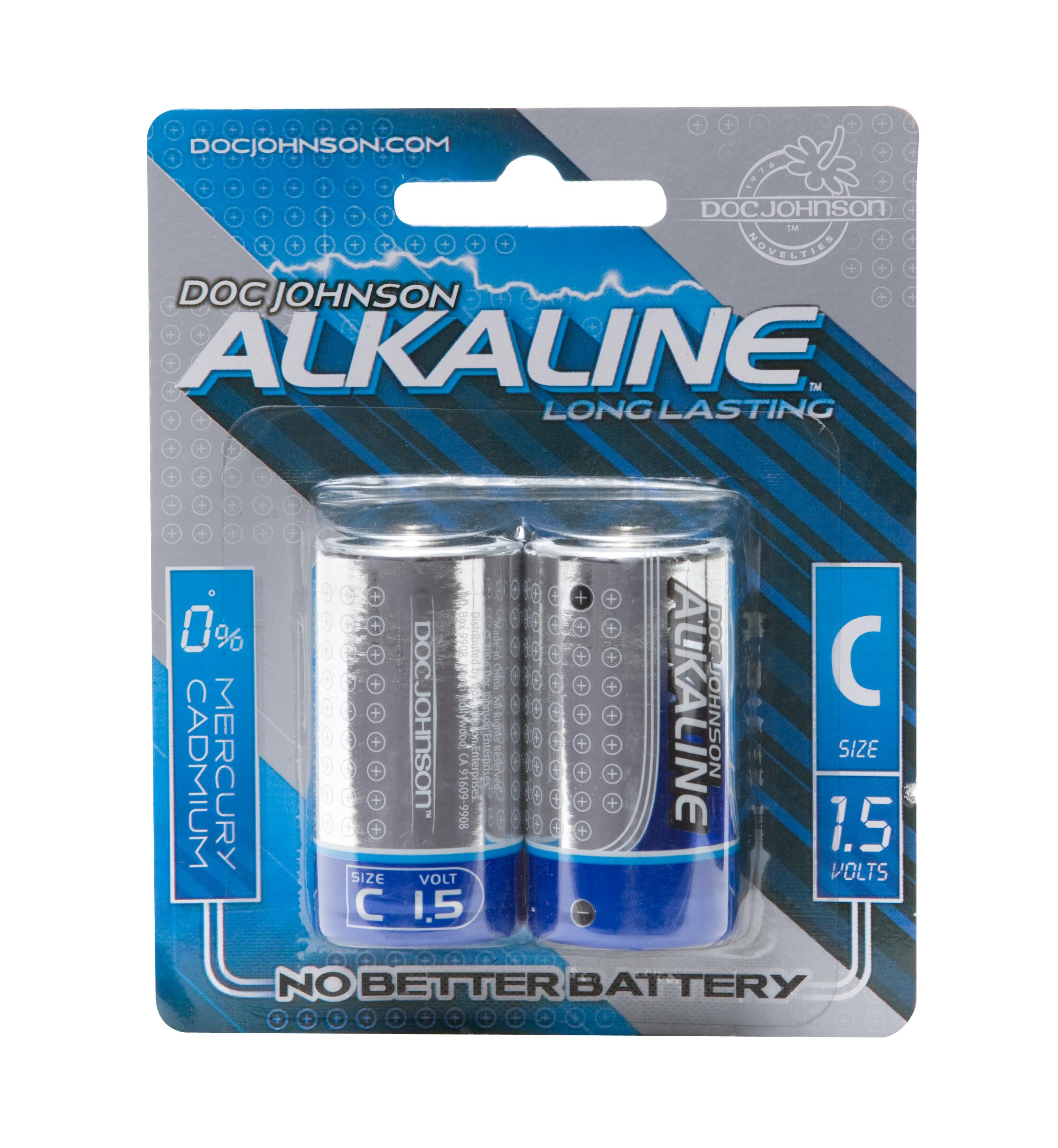 DOC JOHNSON C BATTERIES 2 PACK ALKALINE CD