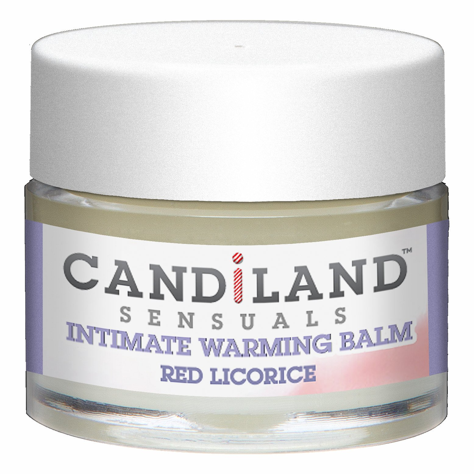 CANDILAND WARMING BALM RED LICORICE .25 OZ(CD)