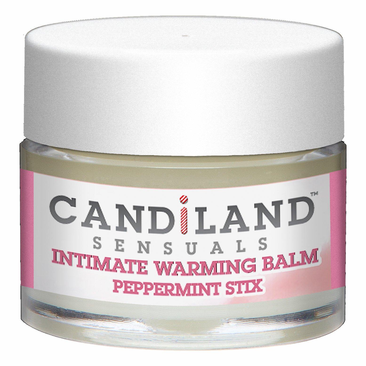 CANDILAND WARMING BALM PEPPERMINT .25 OZ(CD)
