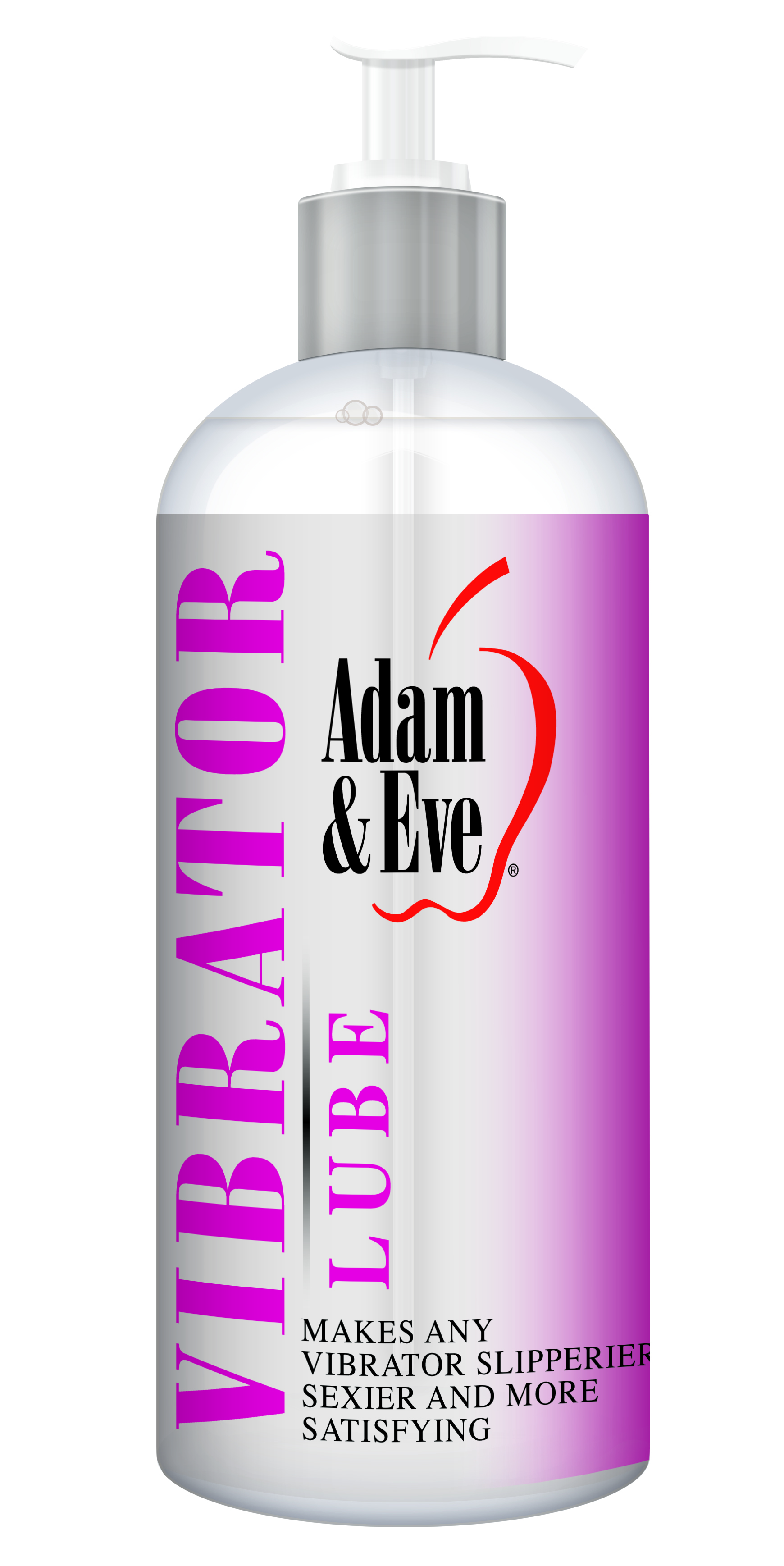 ADAM & EVE VIBRATOR LUBE 16OZ