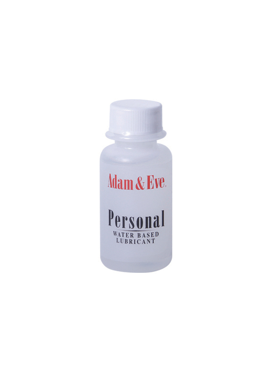 ADAM & EVE PERSONAL WATER BASED LUBE 1 OZ