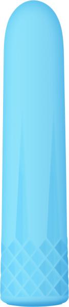 ADAM & EVE DIAMOND RECHARGEABLE BULLET - BLUE