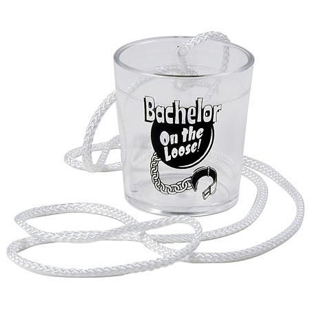 BACHELOR ON THE LOOSE SHOT GLASS