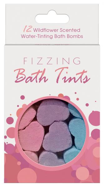 FIZZING BATH TINTS 12PC