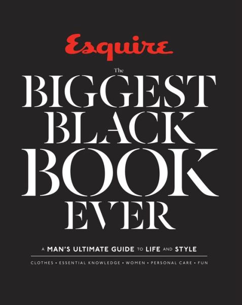 BIGGEST BLACK BOOK EVER MANS GUIDE