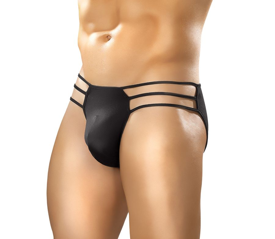 CAGE BRIEF BLACK LG/XL