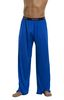PANTS KNIT SILK COBALT MEDIUM