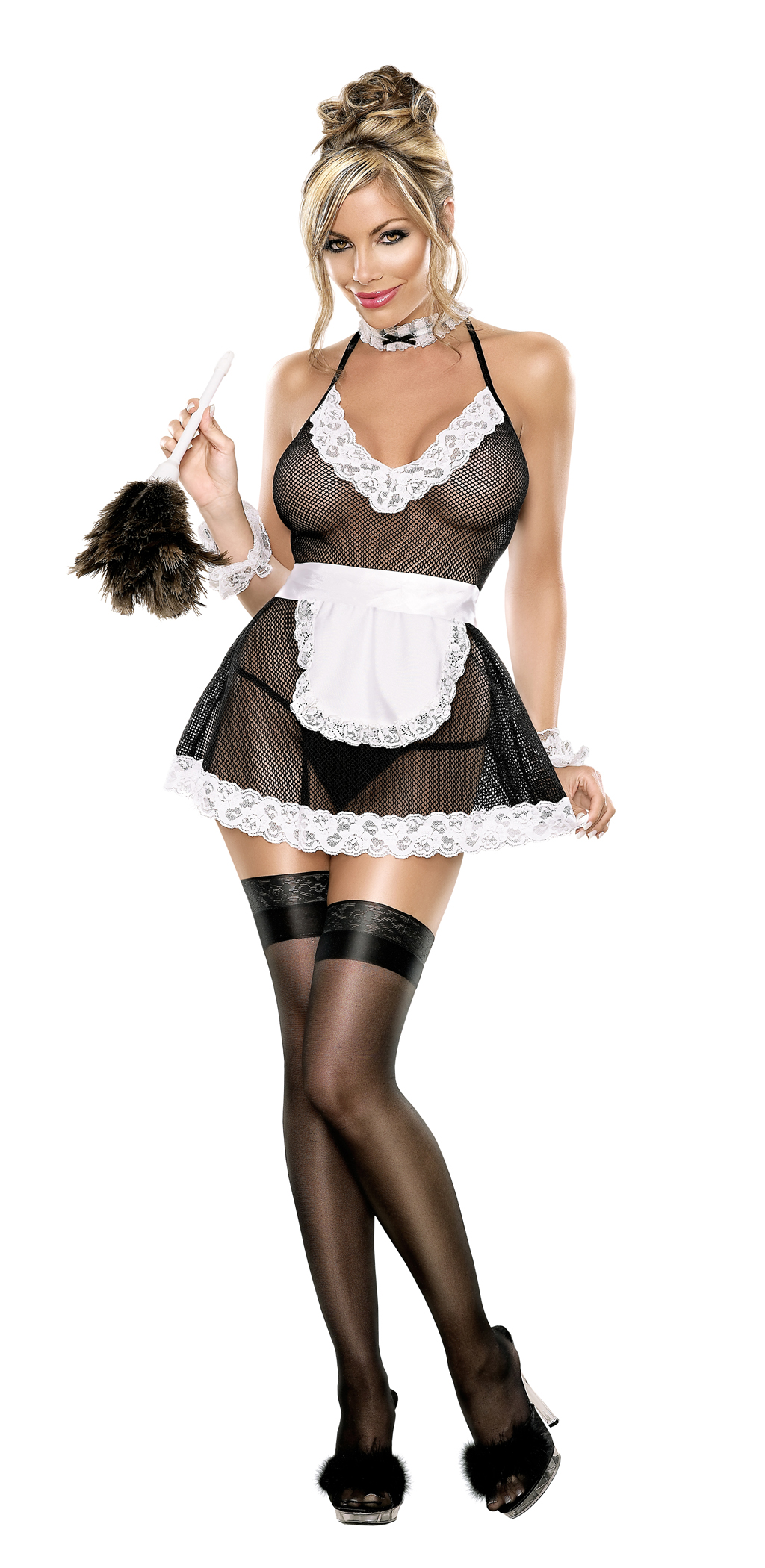 CHAMBER MAID L/XL (BEDROOM FANTASY)