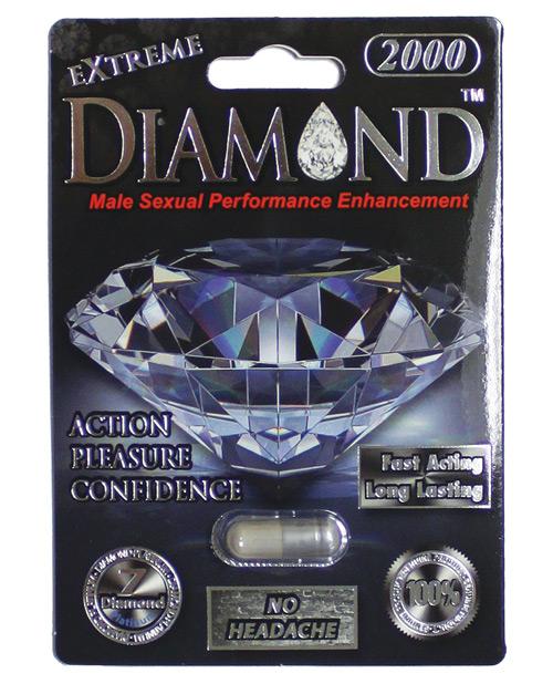 EXTREME DIAMOND PLATINUM 2000 1PC CARD