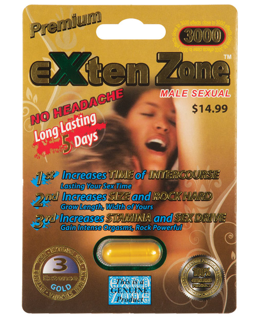 EXTEN ZONE PREMIUM GOLD 3000 1PC
