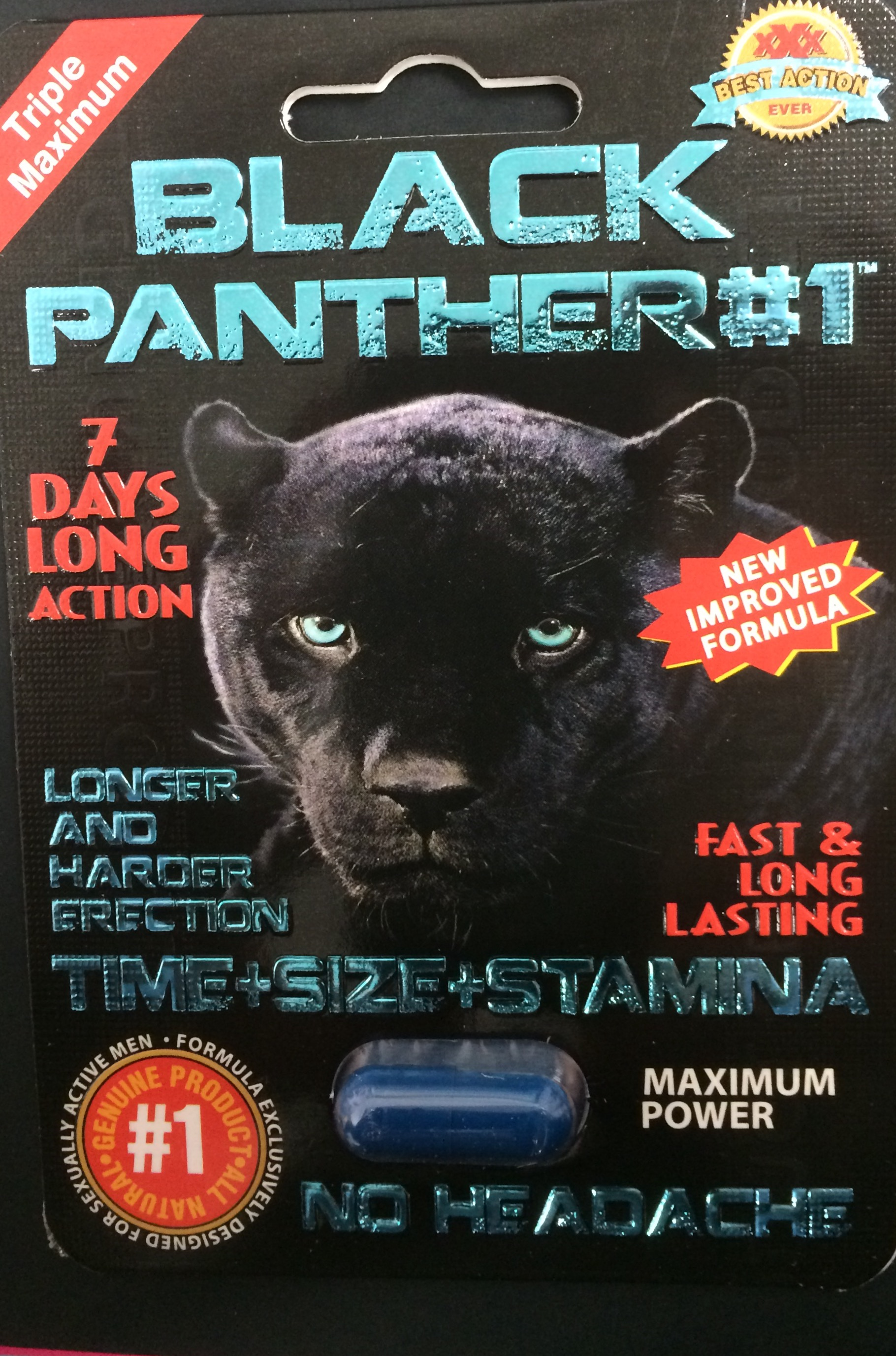 BLACK PANTHER EACHES