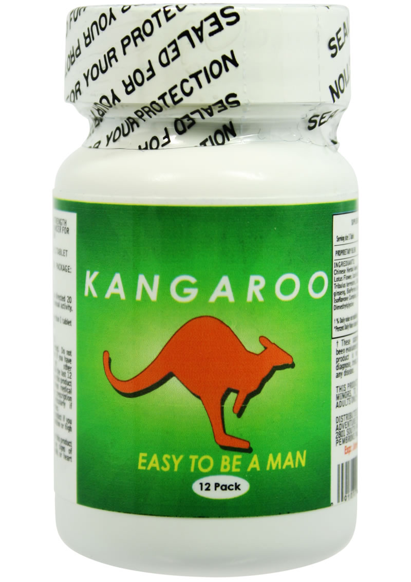 KANGAROO FOR HIM 12PC BOTTLE