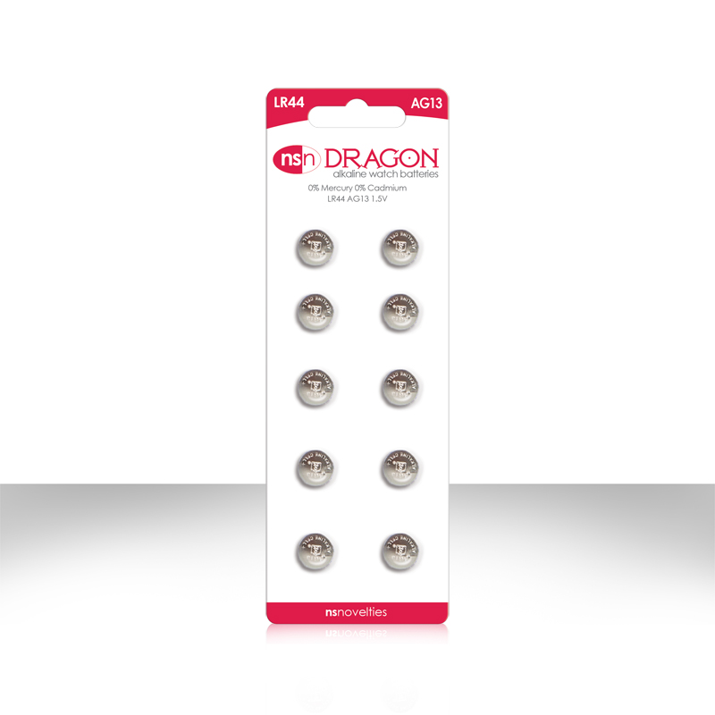 Dragon Watch Batteries AG13 10 package