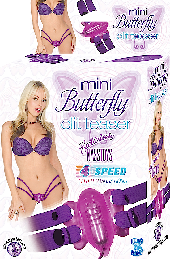 MINI BUTTERFLY CLIT TEASER PURPLE