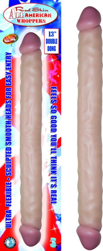 ALL AMERICAN DOUBLE DONG FLESH 13IN