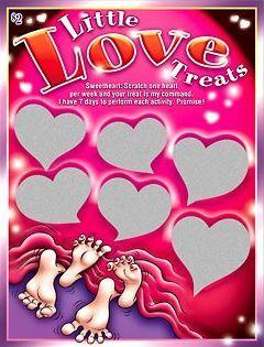 LITTLE LOVE TREATS SCRATCHER