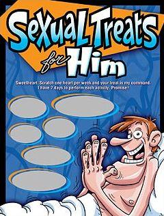 SEXUAL TREATS FOR HIM SCRATCHERS