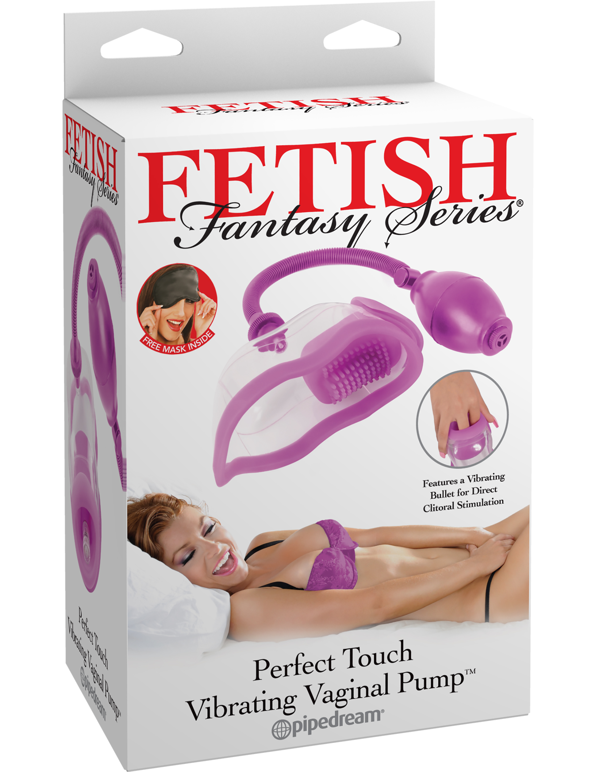FETISH FANTASY PERFECT TOUCH VIBRATING PUSSY PUMP