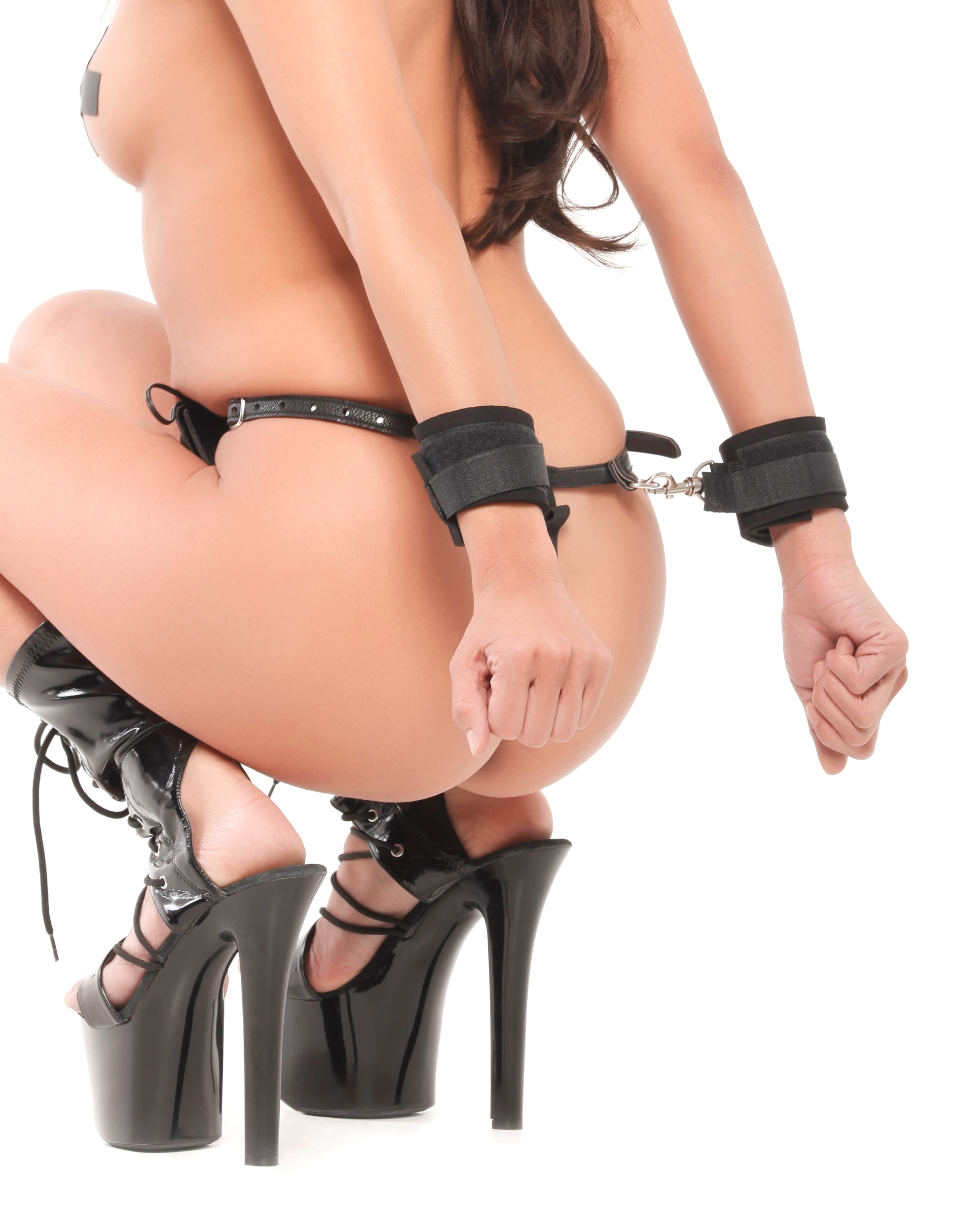 FETISH FANTASY SHOCK BONDAGE PANTY & CUFFS
