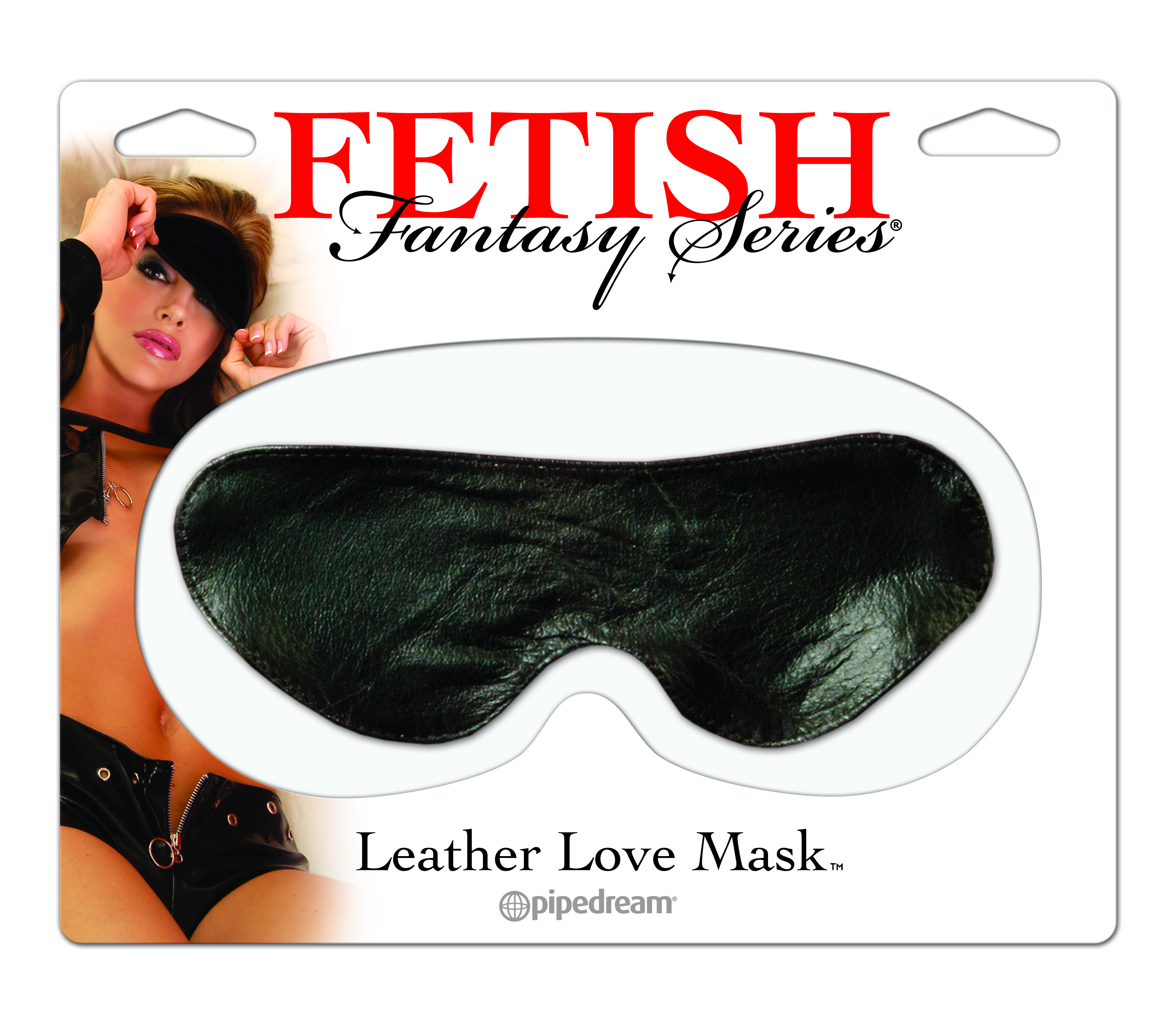 FETISH FANTASY LOVE MASK-LEATHER BLINDFOLD