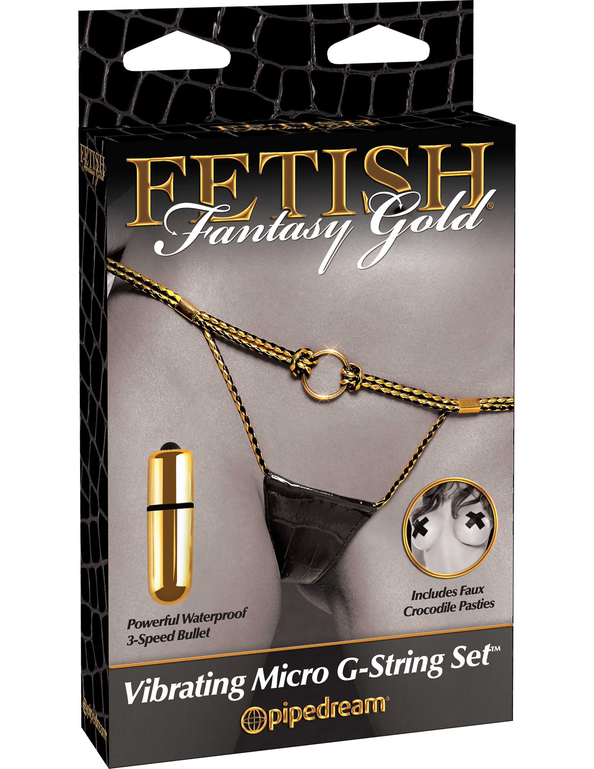 Fetish Fantasy Micro G String Set Vibrating