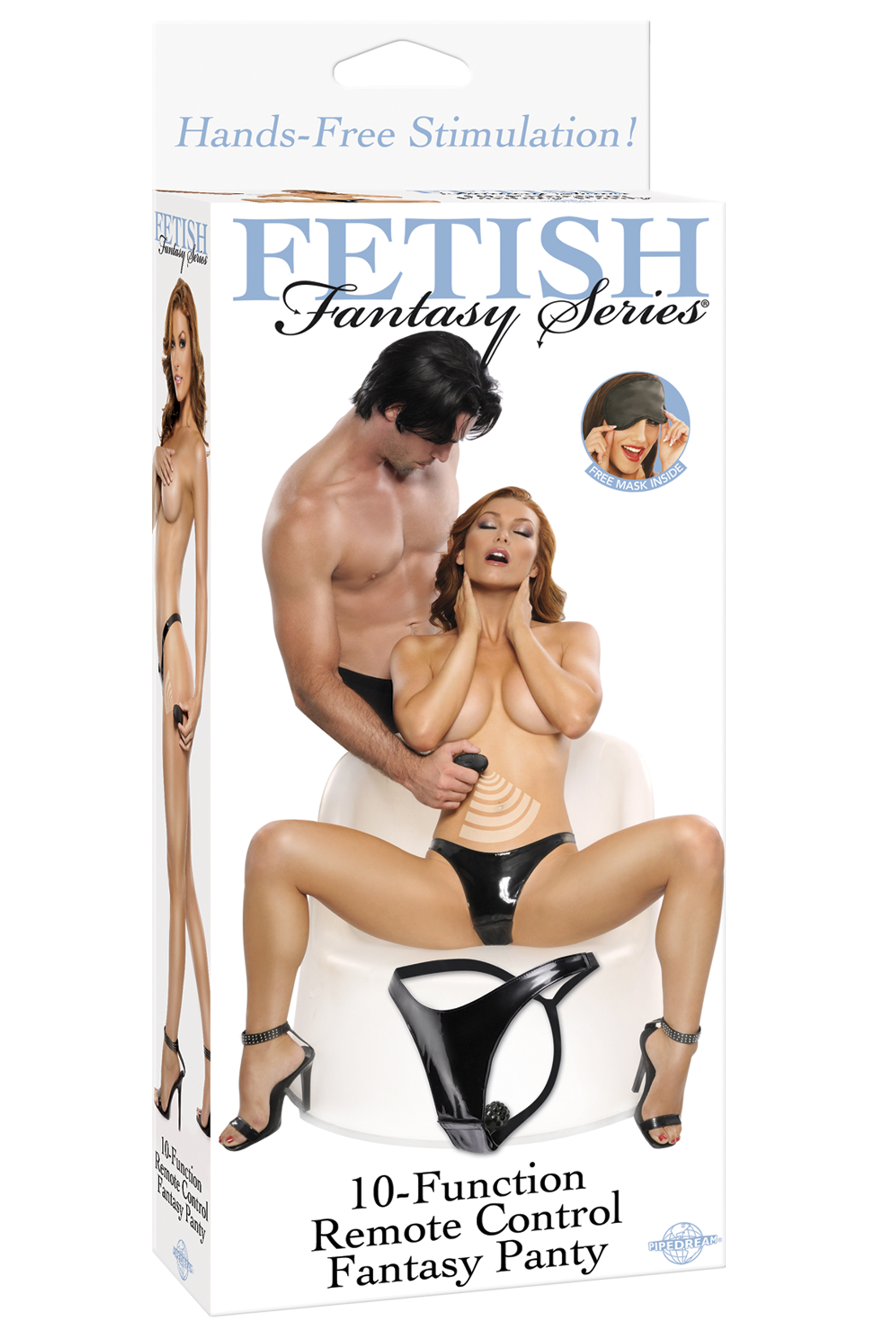FETISH FANTASY 10 FUNCTION REMOTE PANTY - PD402823