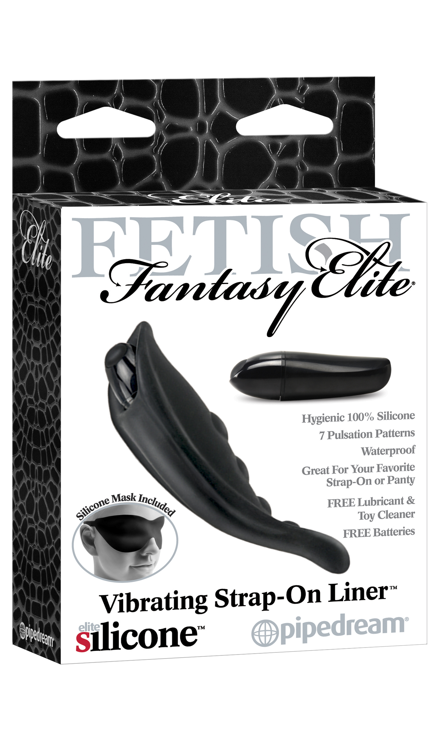 Fetish Fantasy Elite Vib Strap On Liner Black