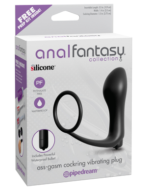 ANAL FANTASY ASS-GASM COCKRING PLUG