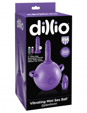 DILLIO VIBRATING MINI SEX BALL PURPLE