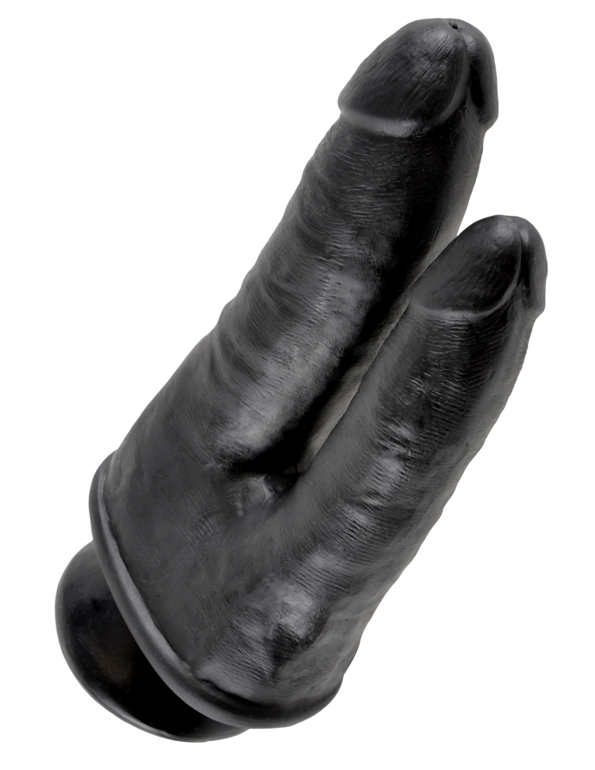 KING COCK DOUBLE PENETRATOR BLACK