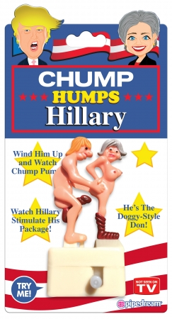 CHUMP HUMPS HILLARY WIND UP