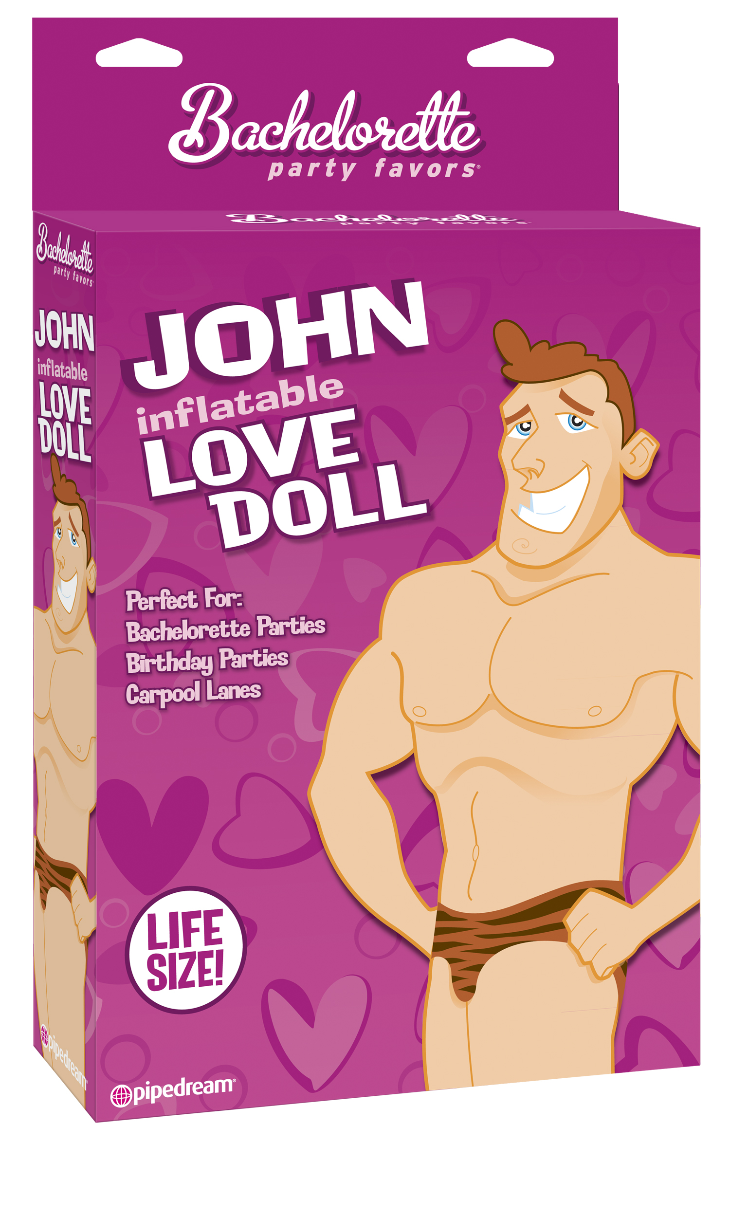 BACHELORETTE JOHN SEX DOLL