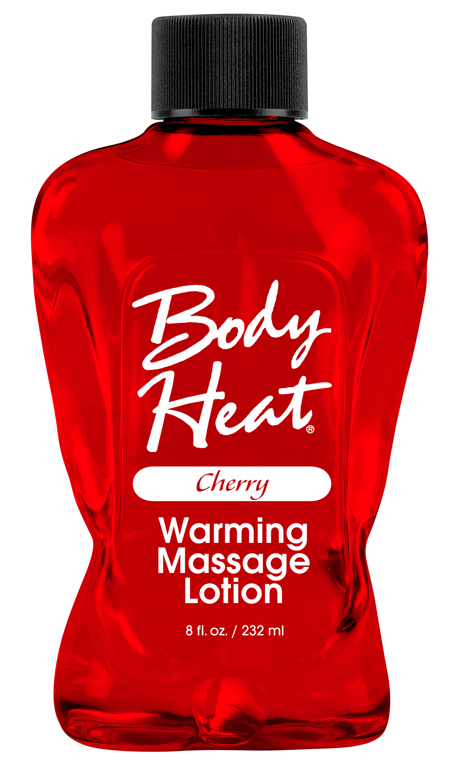 BODY HEAT WARMING MASSAGE LOTION CHERRY
