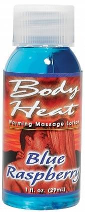 BODY HEAT 1 OZ WARMING MASSAGE LOTION