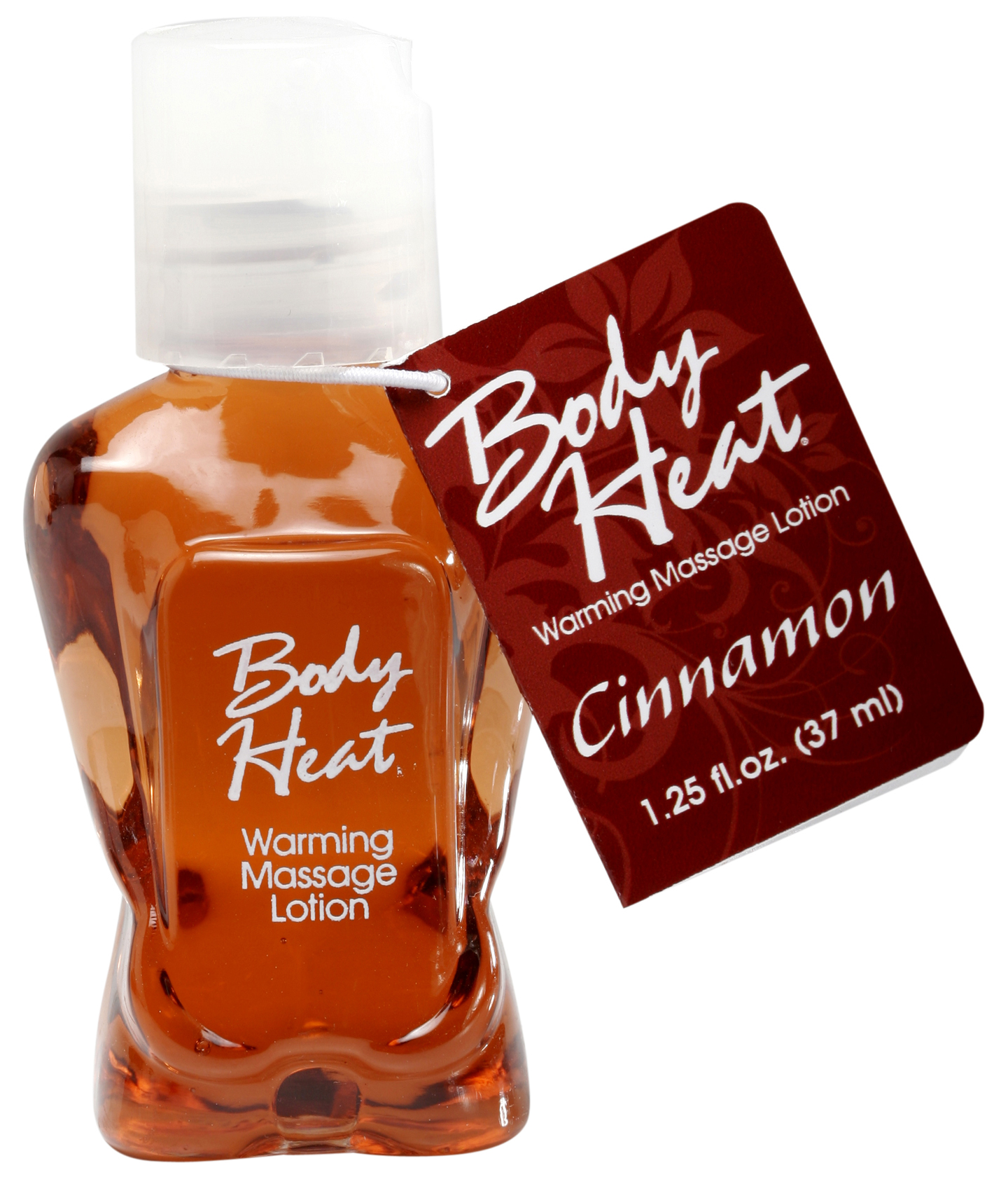 BODY HEAT WARMING MASSAGE LOTION 1.25 OZ CINNAMON