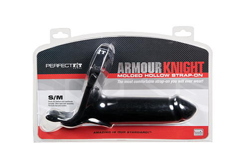 ARMOUR KNIGHT STRAP ON S/M BLACK