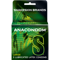 ANACONDOM 3PACK CONDOMS