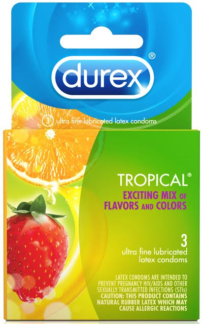 DUREX TROPICAL 3 PACK