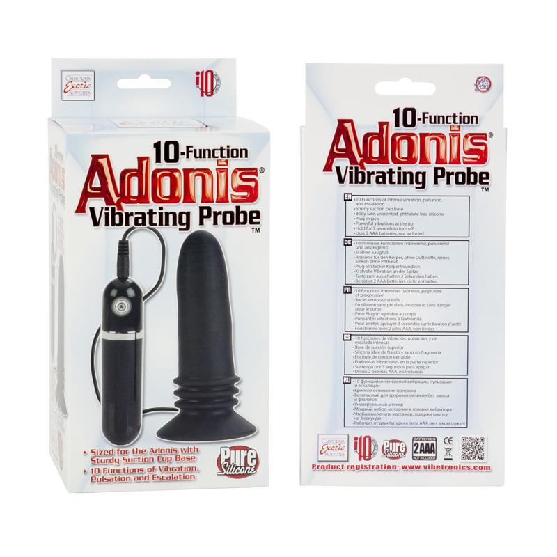 Adonis Vibrating Probe Black