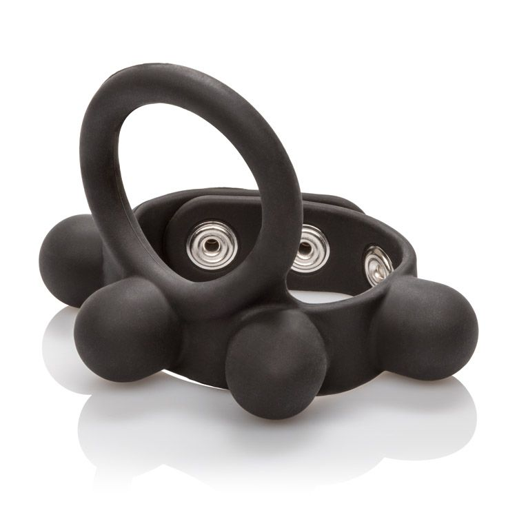 WEIGHTED BALL STRETCHER LARGE BLACK