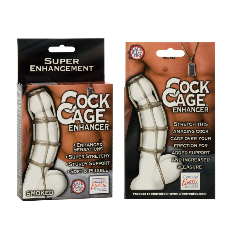 Cock Cage Enhancer Smoked