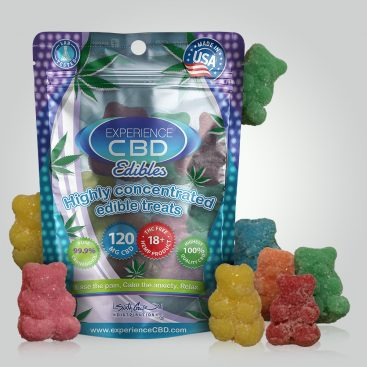 CBD 120MG GUMMY BEARS 4PC