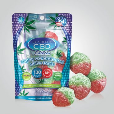CBD 120MG STRAWBERRY GUMMIES 4PC